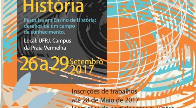 FE coordena XI Encontro Nacional de Pesquisadores em Ensino de História