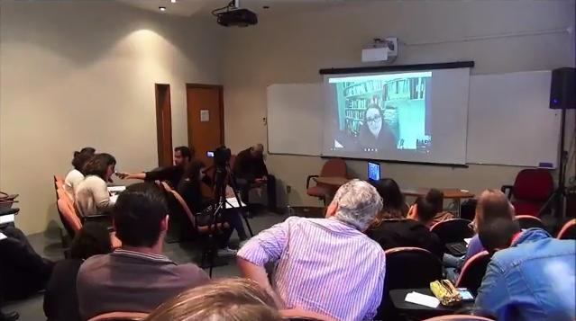 Professora da FE organiza vídeo-conferência com Clare Brooks
