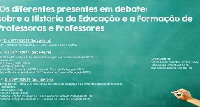 Seminário articula FE/UFRJ e Instituto de Educação Carmela Dutra