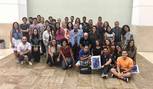 Licenciandos do curso de Didática participam de atividade na Caixa Cultural