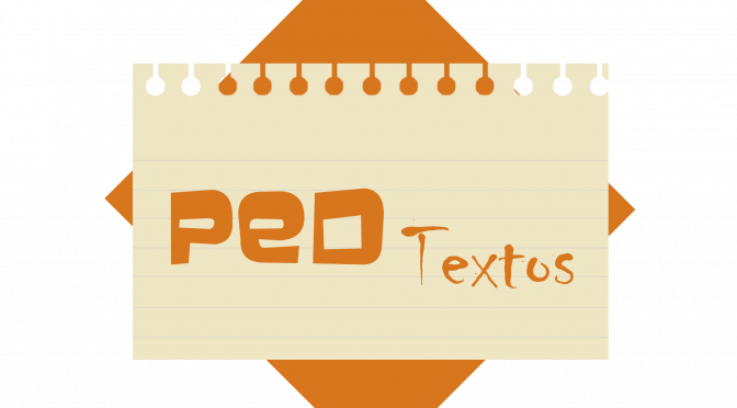 Participe do PedTextos, blog da FE/UFRJ