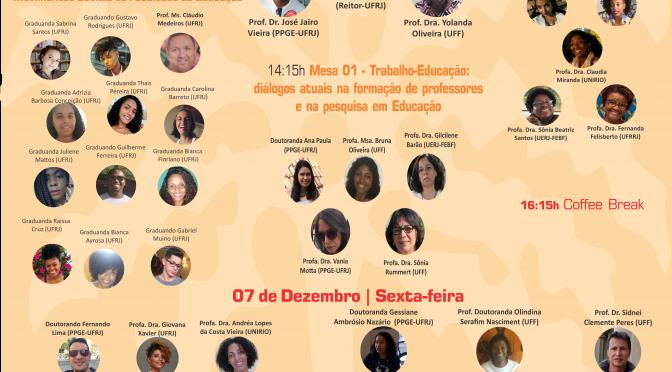 Colóquio Desigualdade e Diversidade na Educação: Raça, Gênero e Corpo