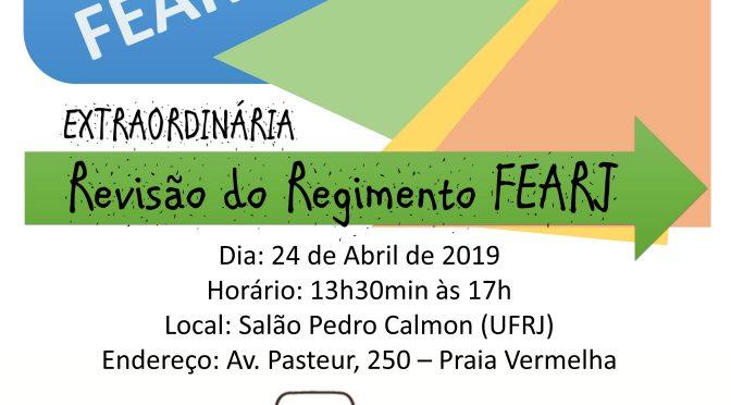 II Plenária do FEARJ 2019