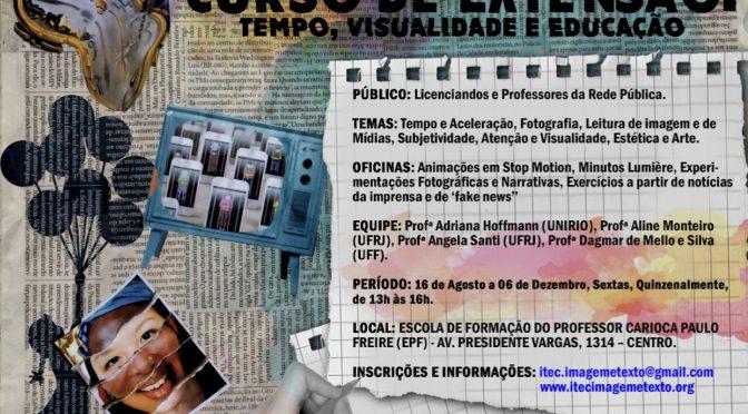 Curso de extensão: Tempo, visualidade e educação