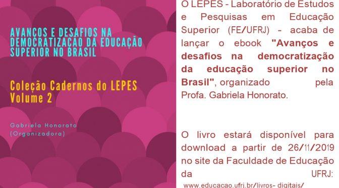Lançamento Cadernos do LEPES 2