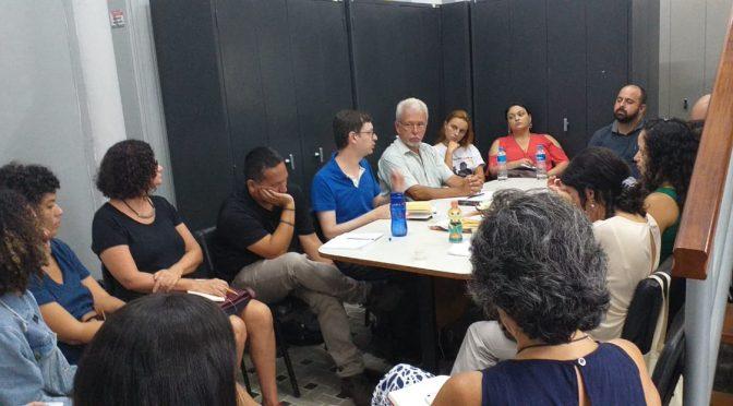 Visita de professor da Unicamp no PROEDES