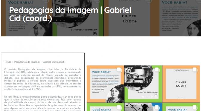 Cineclube Pedagogias da Imagem na revista ClimaCom