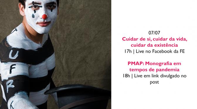 #TomeNota – Agenda semanal de 06/07 a 10/07