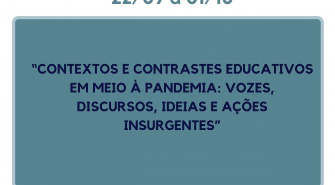 II Ciclo Pedagogia na Quarentena