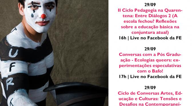 #TomeNota – Agenda semanal de 28/09 a 02/10