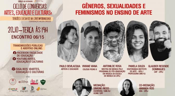 Arte, Educação e Culturas: Gêneros, Sexualidades e Feminismos no Ensino de Arte