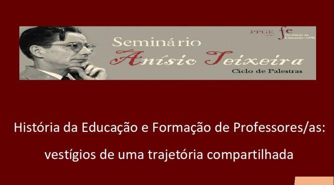 História da Educação e Formação de Professores/as: vestígios de uma trajetória compartilhada