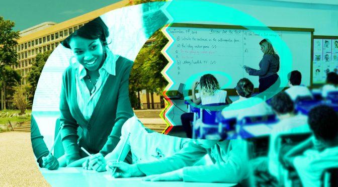 Complexo e escola básica reforçam elo para formar professores