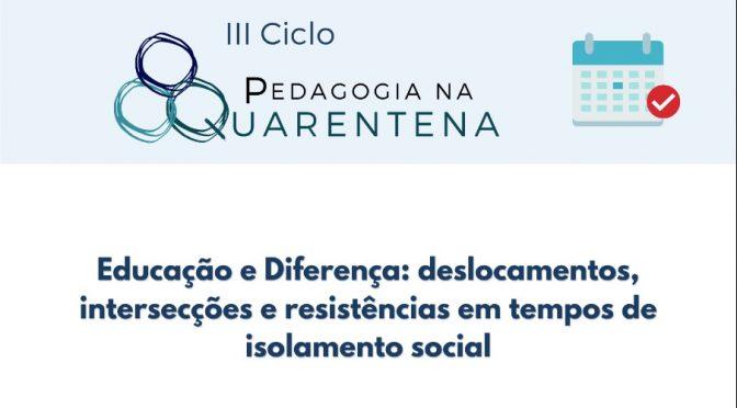 III Ciclo Pedagogia na Quarentena