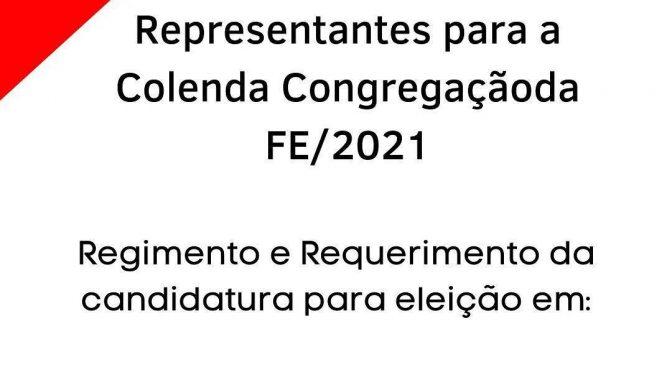Eleição FE-2021