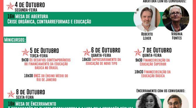 III Seminário Políticas Educacionais do Tempo Presente: crise orgânica, contrarreformas e educação