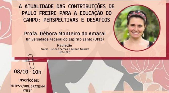A atualidade das contribuições de Paulo Freire para a educação do campo: perspectivas e desafios