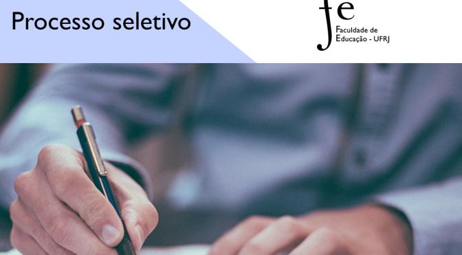 SELEÇÃO SIMPLIFICADA MONITOR(A) BOLSISTA PARA A DISCIPLINA FUNDAMENTOS DA EDUCAÇÃO ESPECIAL